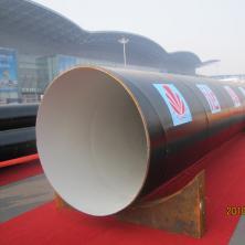 出口美标AWWA C203 Coal  环氧煤沥青磁漆防腐螺旋钢管